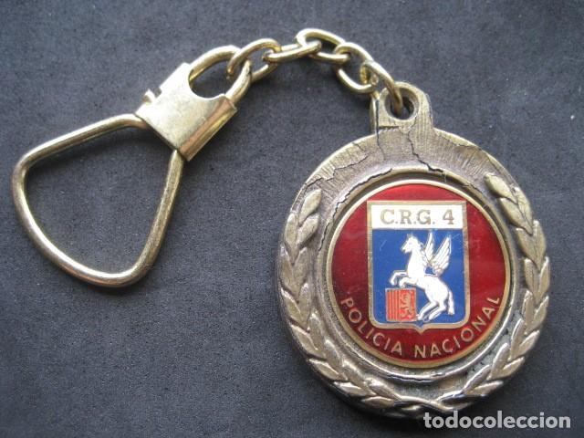 LLAVERO POLICIA NACIONAL C.R.G. 4 (Coleccionismo - Llaveros)