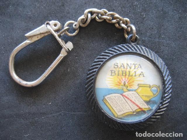 LLAVERO SANTA BIBLIA (Coleccionismo - Llaveros)