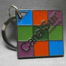 Colecionismo de porta-chaves: LLAVERO DE METAL CANAL SUR ANDALUCIA - LLAV-10779 - B-256. Lote 212065323