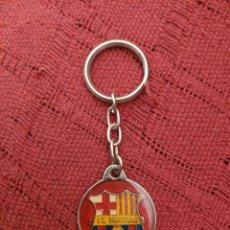 Colecionismo de porta-chaves: LLAVERO FC BARCELONA ANTIGUO. Lote 213473498