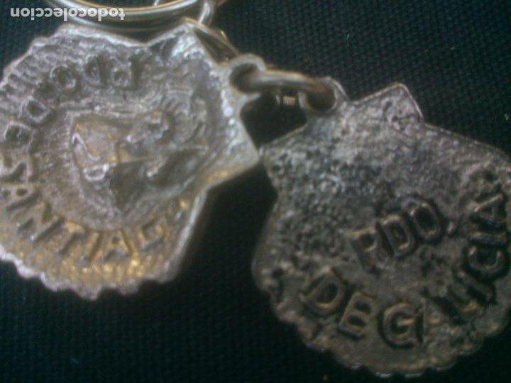 Coleccionismo de llaveros: ANTIGUO LLAVERO METALICO SANTIAGO CAMINO - Foto 3 - 213672471