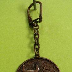 Colecionismo de porta-chaves: LLAVERO TORO SIGNO ZODIACO TAURO - HORÓSCOPO. Lote 216636155