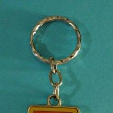 Collectionnisme de portes-clés: LLAVERO PUBLICIDAD LADA. CONCESIONARIO OFICIAL CASTEVAL AUTOMOCIÓN. Lote 217766581