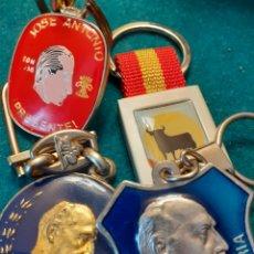 Coleccionismo de llaveros: LOTE LLAVEROS FRANCO VALLE DE LOS CAIDOS. Lote 218208990
