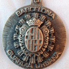 Coleccionismo de llaveros: LLAVERO GUARDIA URBANA BARCELONA X PROMOCIÓN 1960 1985 XXV ANIVERSARIO ESCUELA CUERPO POLICIA ESPAÑA. Lote 218243178