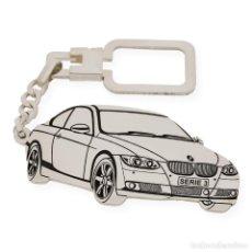 Coleccionismo de llaveros: LLAVERO EN PLATA DE LEY 925 CON DISEÑO DEL BMW M3. Lote 221899573