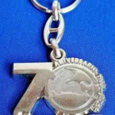 Coleccionismo de llaveros: LLAVERO IVECO -PEGASO -70 ANIVERSARIO 1946-2016. Lote 222082631