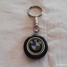 Coleccionismo de llaveros: BMW LLAVERO FORMA DE RUEDA DE COCHE. Lote 222250361