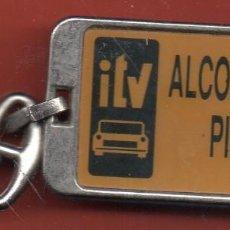 Coleccionismo de llaveros: VESIV LLAVERO INSPECCION TECNICA DE VEHICULOS ALCOLEA DEL PINAR. Lote 222300662