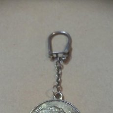 Collectionnisme de portes-clés: LLAVERO ANTIGUO MONEDA 5PESETAS ALFONSO XIII. Lote 222716708