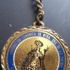 Coleccionismo de llaveros: NUESTRA SEÑORA DE LA PALMA. Lote 227002585