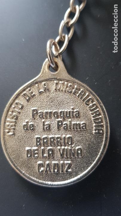 Coleccionismo de llaveros: CRISTO DE LA MISERICOEDIA -CADIZ - Foto 2 - 227003204