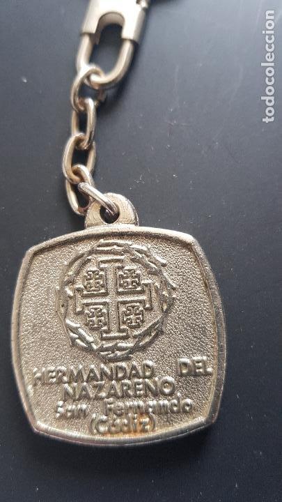 Coleccionismo de llaveros: HERMANDAD DEL NAZARENO -CADIZ - Foto 2 - 227003395