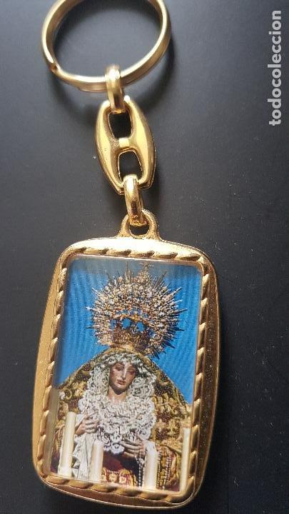 VIRGEN Y JESUCRISTO (Coleccionismo - Llaveros)