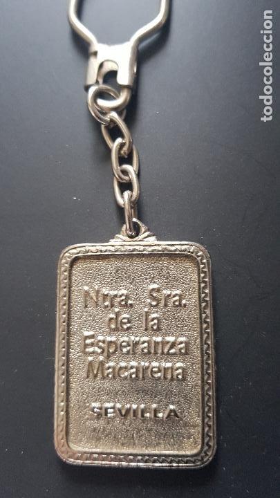 Coleccionismo de llaveros: NUESTRA SEÑORA DE LA ESPERANZA-SEVILLA - Foto 2 - 227003825