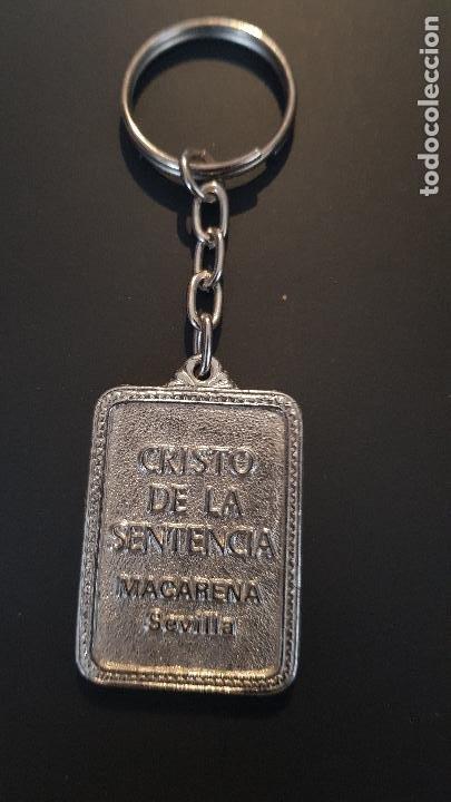 Coleccionismo de llaveros: CRISTO DE LA SENTENCIA-SEVILLA - Foto 2 - 227010669