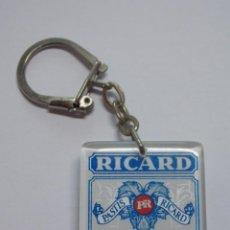Coleccionismo de llaveros: ANTIGUO LLAVERO PLASTICO - LICOR - RICARD PASTIS - FRANCE ... L2677. Lote 227974080