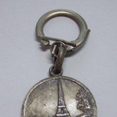Coleccionismo de llaveros: ANTIGUO LLAVERO METAL - TORRE EIFFEL - PARIS - FRANCIA... L2680. Lote 227976175