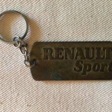 Collectionnisme de portes-clés: LLAVERO RENAULT. Lote 227989190