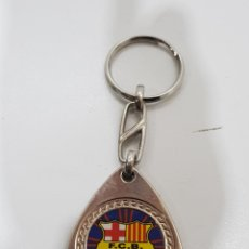 Coleccionismo de llaveros: LLAVERO FUTBOL CLUB BARCELONA. Lote 228287200