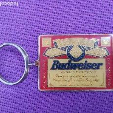 Coleccionismo de llaveros: BONITO LLAVERO BUDWEISER. Lote 229347975