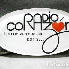 Colecionismo de porta-chaves: LLAVERO DE METACRILATO RADIO CORAZON, UN CORAZON QUE LATE POR TI... - LLAV-11915 - B-317. Lote 234289570