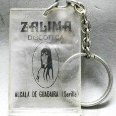Collezionismo di Portachiavi: LLAVERO DE METACRILATO ZALIMA DISCOTECA, ALCALA DE GUADAIRA, SEVILLA - LLAV-11987 - B-322. Lote 234657125