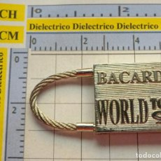 Colecionismo de porta-chaves: LLAVERO DE BEBIDAS. RON BACARDI WORLD TOUR 94 1994. Lote 234982430