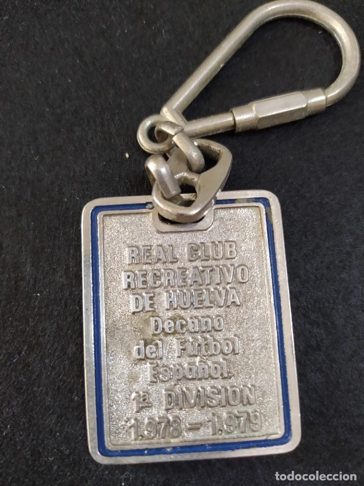 Coleccionismo de llaveros: LLAVERO RECREATIVO DE HUELVA, AÑO EN PRIMERA - Foto 2 - 234993680