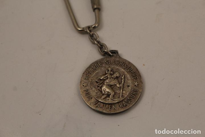Coleccionismo de llaveros: san cristobal llavero de plata - Foto 2 - 268867824