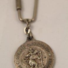 Coleccionismo de llaveros: SAN CRISTOBAL LLAVERO DE PLATA. Lote 268867824