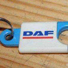 Colecionismo de porta-chaves: LLAVERO DAF TRUCKS CAMIONES. Lote 236295830