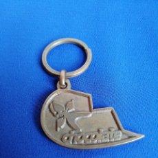 Coleccionismo de llaveros: DISCOTECA CHOCOLATE RUTA DEL BACALAO. Lote 236708590