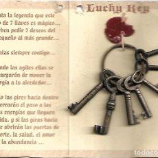 Coleccionismo de llaveros: ANTIGUO LLAVERO DE LAS LLAVES MAGICAS. Lote 241950695