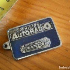 Coleccionismo de llaveros: LLAVERO AÑOS 70/80, DE PHILIPS AUTORADIO. Lote 242986370