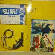 Colecionismo de porta-chaves: PISTOLA LLAVERO DE PILEN. Lote 243142680