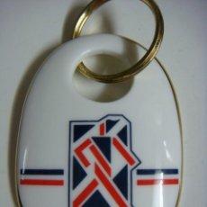 Coleccionismo de llaveros: LLAVERO EN PORCELANA BRITAIN AT EXPO'92-(&). Lote 245490860