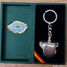 Coleccionismo de llaveros: LLAVERO BAÑADO EN PLATA GUARDIA CIVIL. Lote 245638790