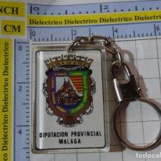 Coleccionismo de llaveros: LLAVERO DE TURISMO HERÁLDICA. ESCUDO HERÁLDICO MÁLAGA. Lote 246268690