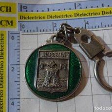 Coleccionismo de llaveros: LLAVERO DE TURISMO HERÁLDICA. MARBELLA, MÁLAGA. Lote 246269435