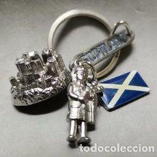 Collezionismo di Portachiavi: LLAVERO DE METAL SCOTLAND - LLAV-12760 - B-367. Lote 247110495