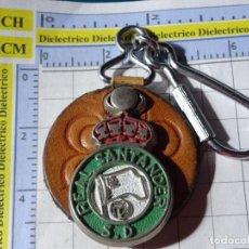 Collezionismo di Portachiavi: LLAVERO DE DEPORTES. FÚTBOL. AÑOS 70 80. REAL RACING DE SANTANDER. Lote 247237070