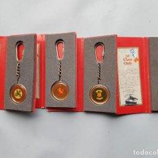 Coleccionismo de llaveros: LLAVEROS MARINEROS LOTE. Lote 248420205