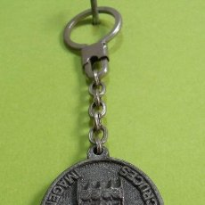 Colecionismo de porta-chaves: LLAVERO RECUERDO DAIMIEL - VIRGEN MARÍA SANTISIMA DE LAS CRUCES. Lote 251604930