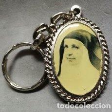 Coleccionismo de llaveros: LLAVERO DE METAL SOR ANGELA DE LA CRUZ RECUERDO DE LA CANONIZACION - LLAV-13088 - B-380. Lote 277587843
