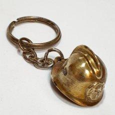 Colecionismo de porta-chaves: LLAVERO CASCO DE BOMBEROS. Lote 252571675