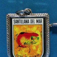 Collectionnisme de portes-clés: LLAVERO SANTILLANA DE MAR RECUERDO. Lote 252872280