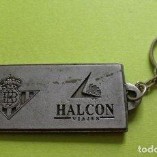 Collectionnisme de portes-clés: LLAVER HALCÓN VIAJES REAL FEDERACIÓN ESPAÑOLA FÚTBOL - FINAL COPA REY - BARCELONA BETIS 1997. Lote 252911985