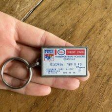 Coleccionismo de llaveros: LLAVERO ESSO EURO GASOIL - CRÉDIT CARD. Lote 253636165