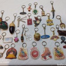 Coleccionismo de llaveros: BONITA COLECCIÓN DE 29 LLAVEROS ANTIGUOS. Lote 254132385
